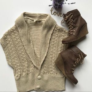 Anthropologie Moth Sweater Vest